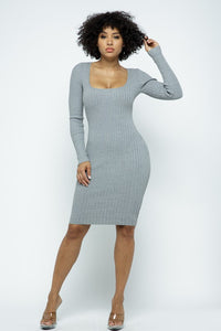Hanging Out Dress (Gray)