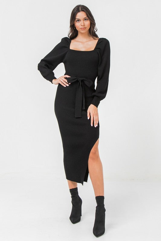 Secret Romance Dress (Black)