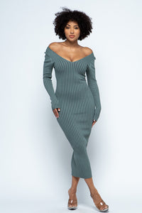 The Lyanna Dress (Sage)