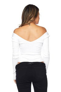 The Lyanna Bodysuit (White)