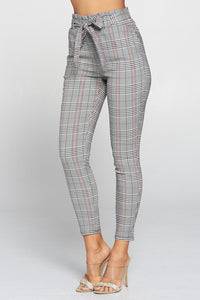 Dreaming in Plaid Pants (Black)