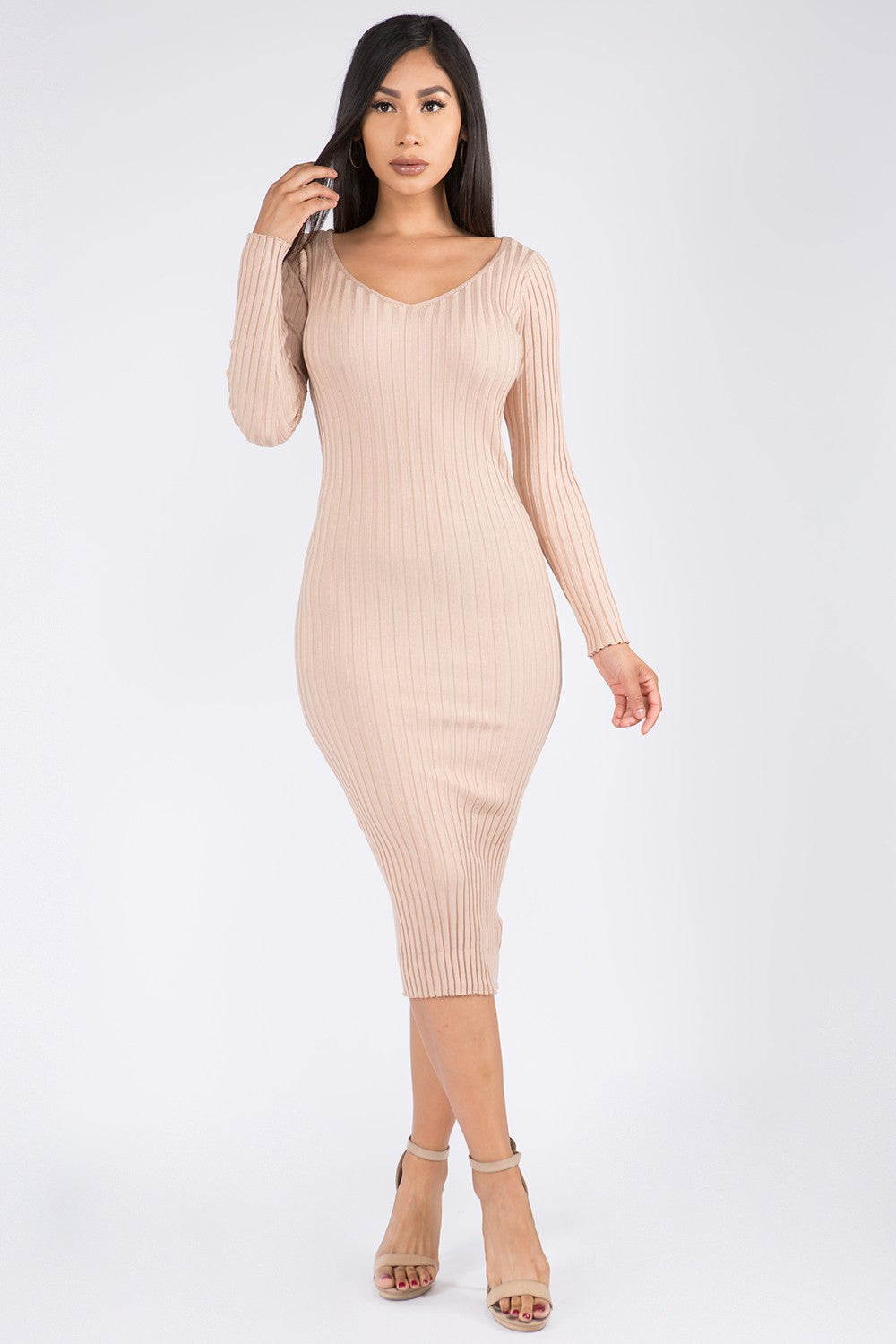 The Leann Dress (Nude)
