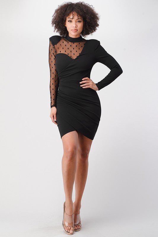 Gentle Kiss Dress (Black)