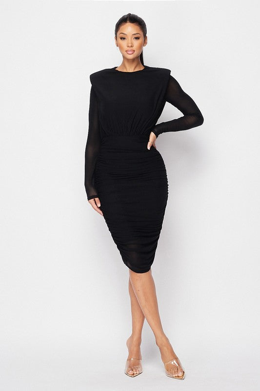 High Expectations Dress (Black)