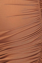 Load image into Gallery viewer, High Expectations Dress (Camel)