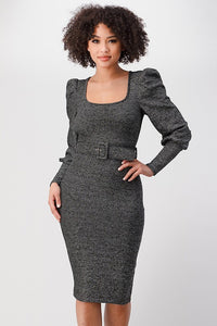 Weekend Vibes Dress (Charcoal)