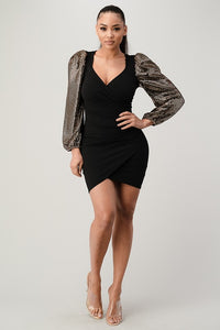 Girls Night Dress (Black)