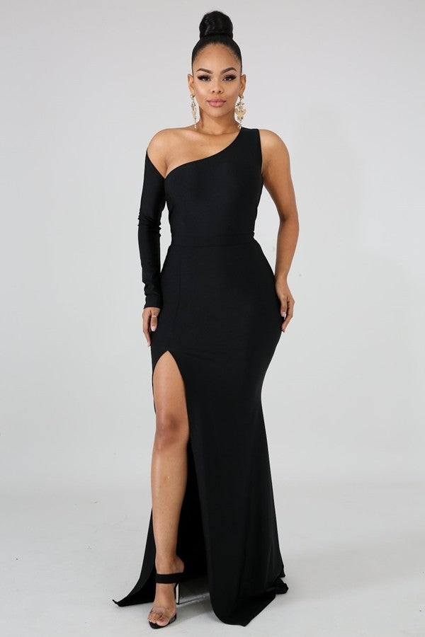 Queen Valentina Dress (Black)