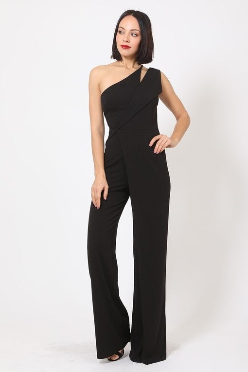 Be Free Jumpsuit (Black)