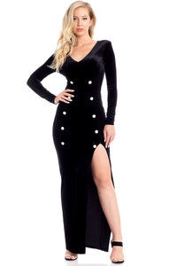 Exceptional Evening Dress (Black)