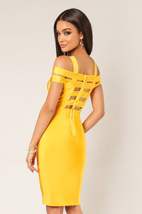 Simply Sexy Dress (Yellow)