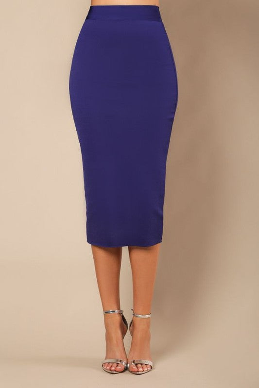 Bella Bandage Skirt (Midnight Blue)
