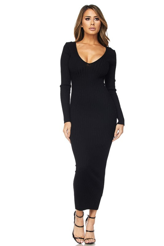 The Lyanna Dress (Black)
