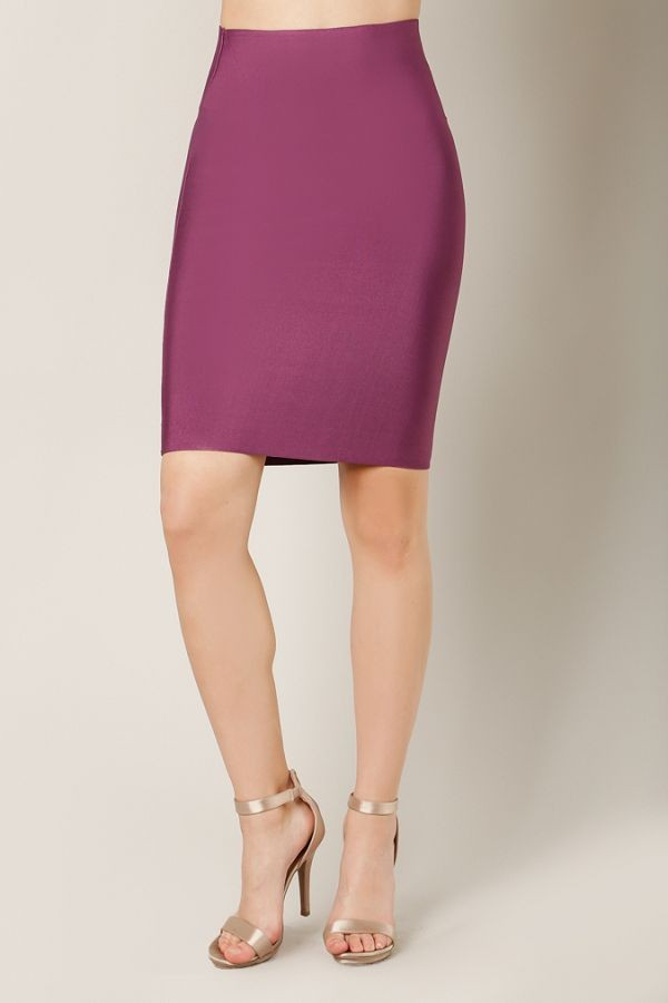 Break Your Heart Skirt (Plum)
