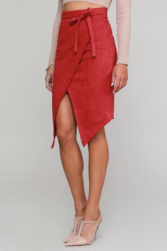 Social Hour Skirt (Red)