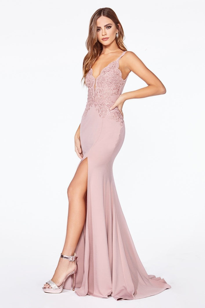 Queen Odette Dress (Dusty Rose)