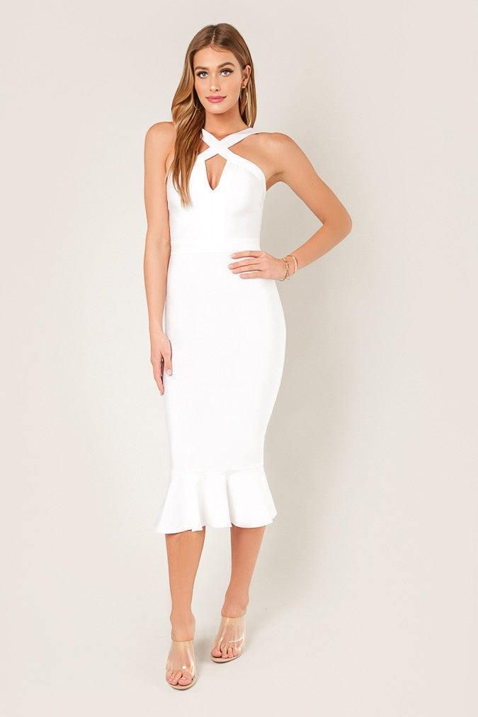 Secret To Life Dress (White)