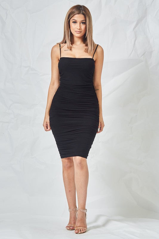 Long Night Dress (Black)