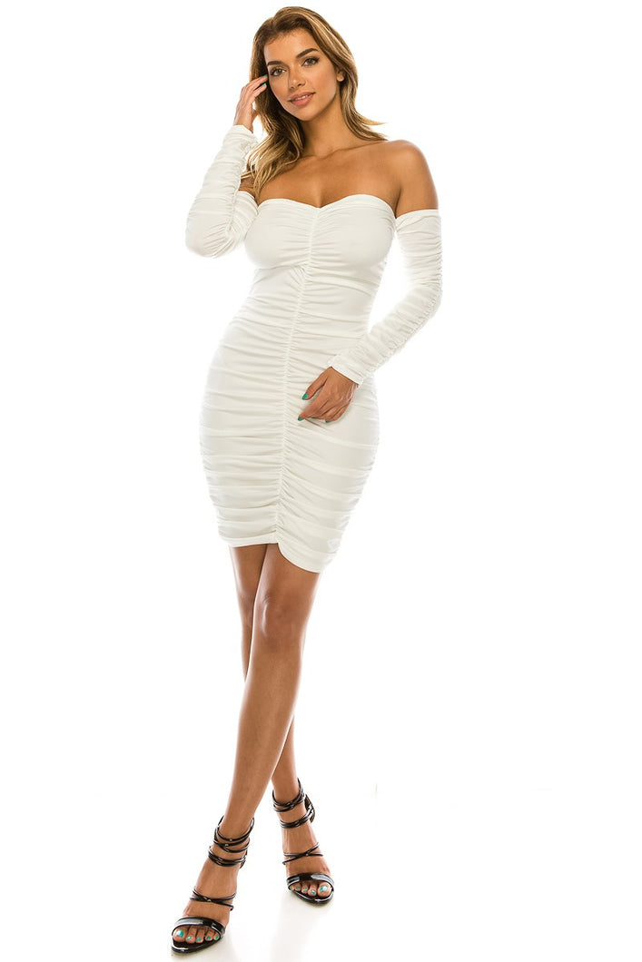Make the Effort Dress (Ivory)