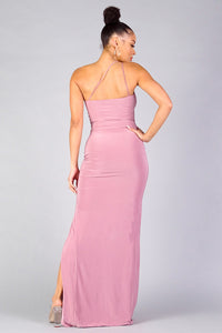 Queen Joelle Dress (Mauve)