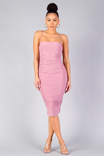 The Winner Dress (Mauve)