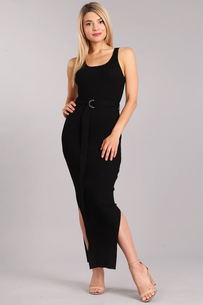 Lead the Way Dress (Black)