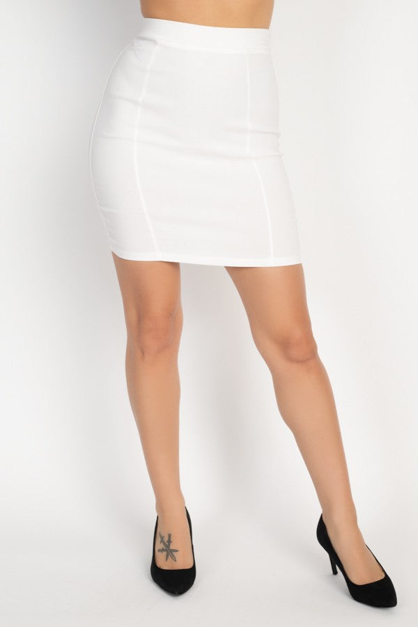 Take Me Out Skirt (Ivory)
