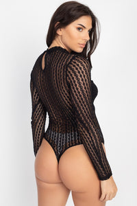 Lure You In Bodysuit (Ivory)