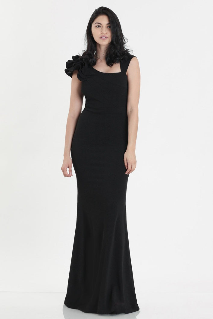 Queen Amanda Dress (Black)