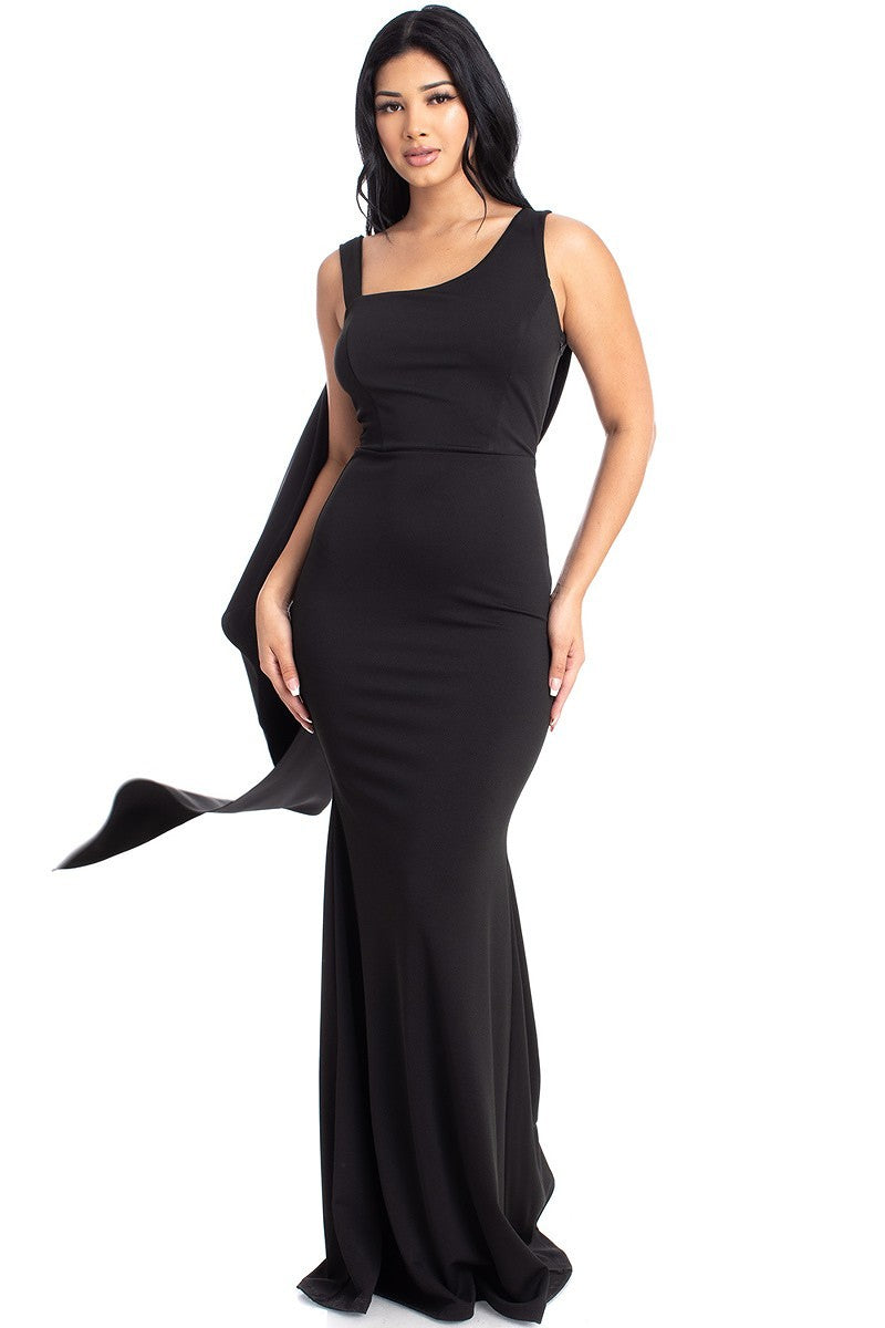 Queen Rochelle Dress (Black)