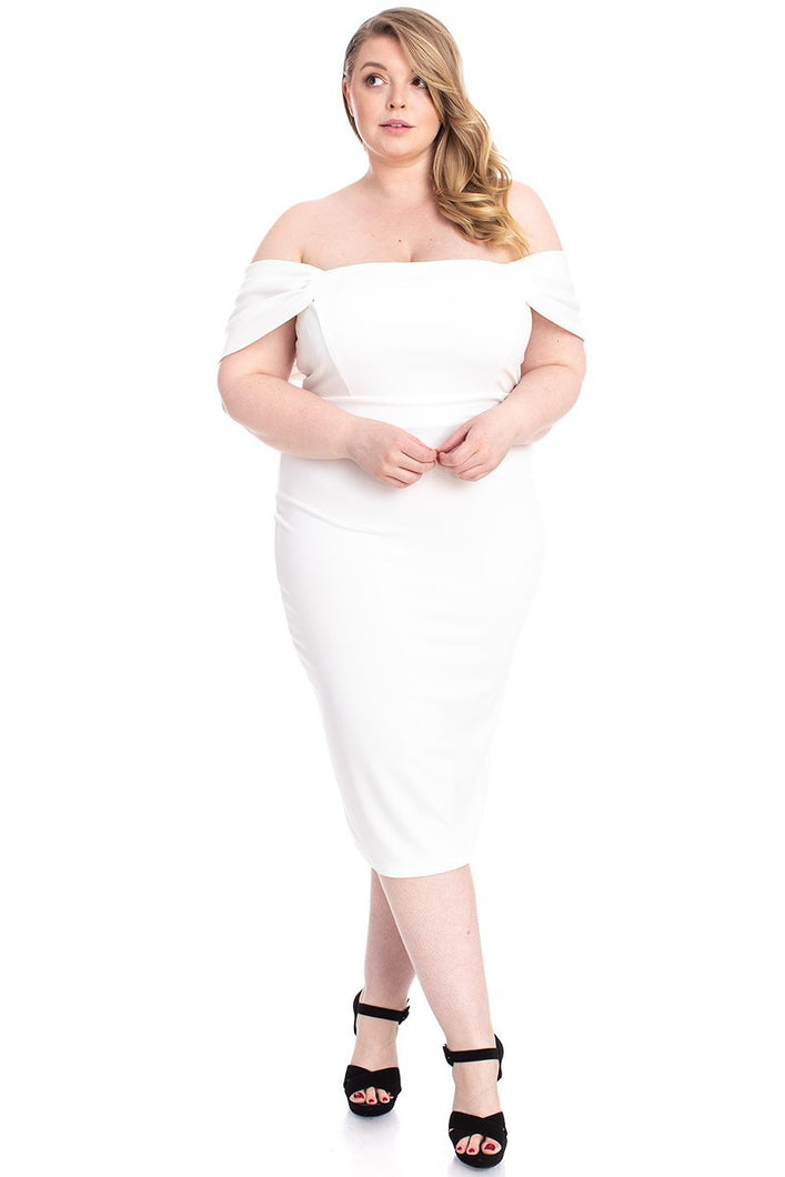 All About Me Dress (Ivory)