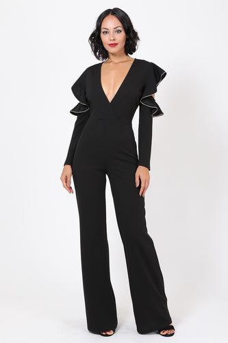 Forbidden Love Jumpsuit (Black)