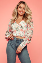 Load image into Gallery viewer, Floral Bloom Top (Cream/Floral)