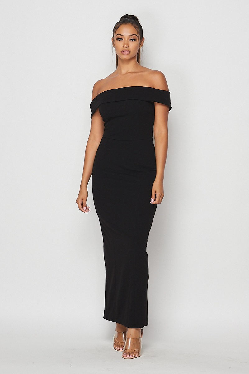 True Elegance Dress (Black)