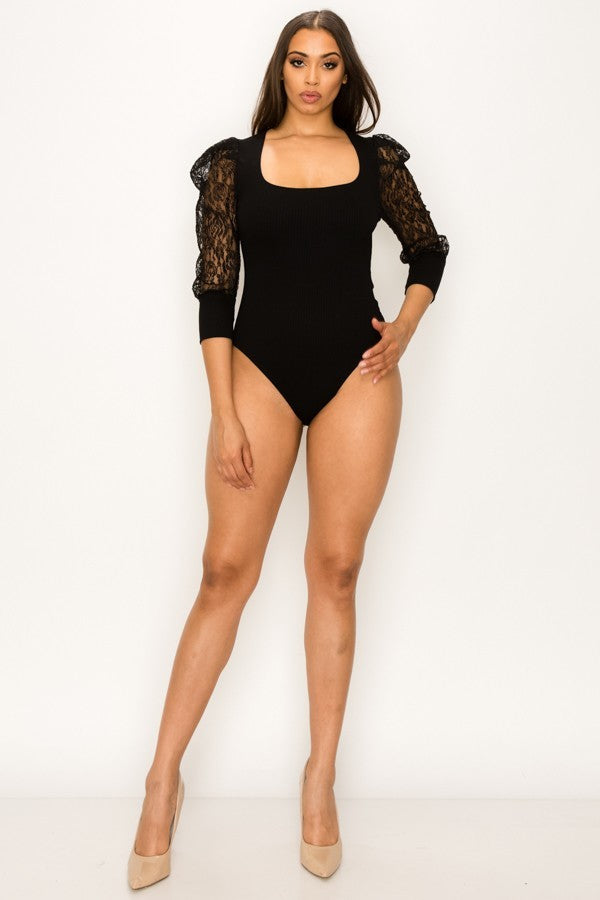 Something Good Bodysuit (Black)