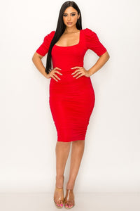 Call the Shots Dress (Red)
