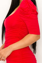Load image into Gallery viewer, Call the Shots Dress (Red)