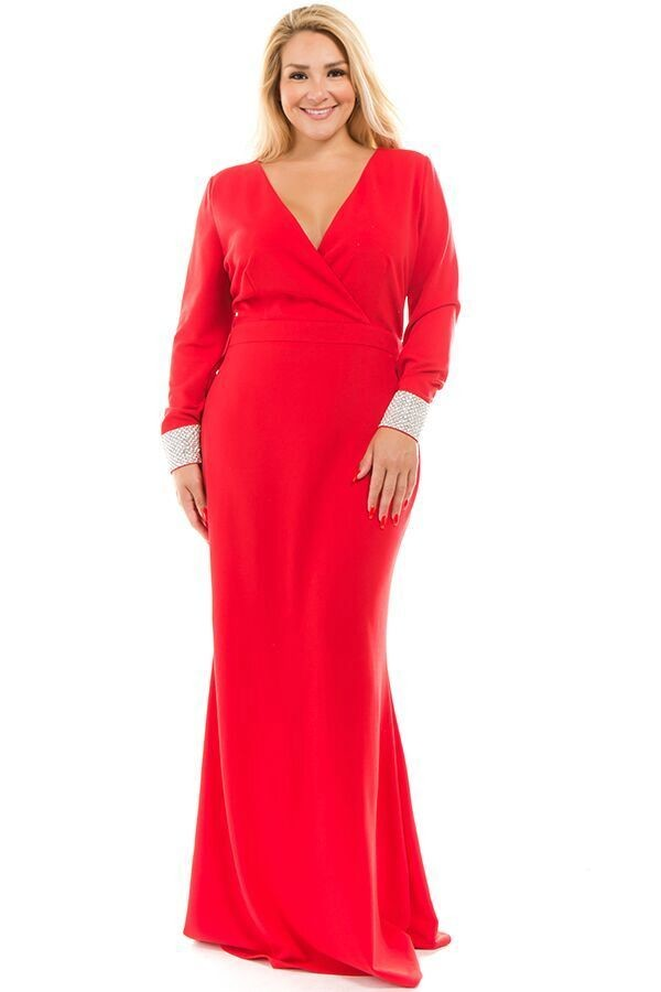Queen Sienna Dress (Red)