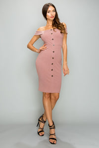 Proud of Me Dress (Mauve)