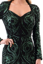 Load image into Gallery viewer, Queen Katherine Dress (Hunter Green)