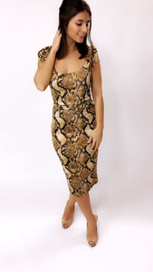 Venom Touch Dress (Snake)
