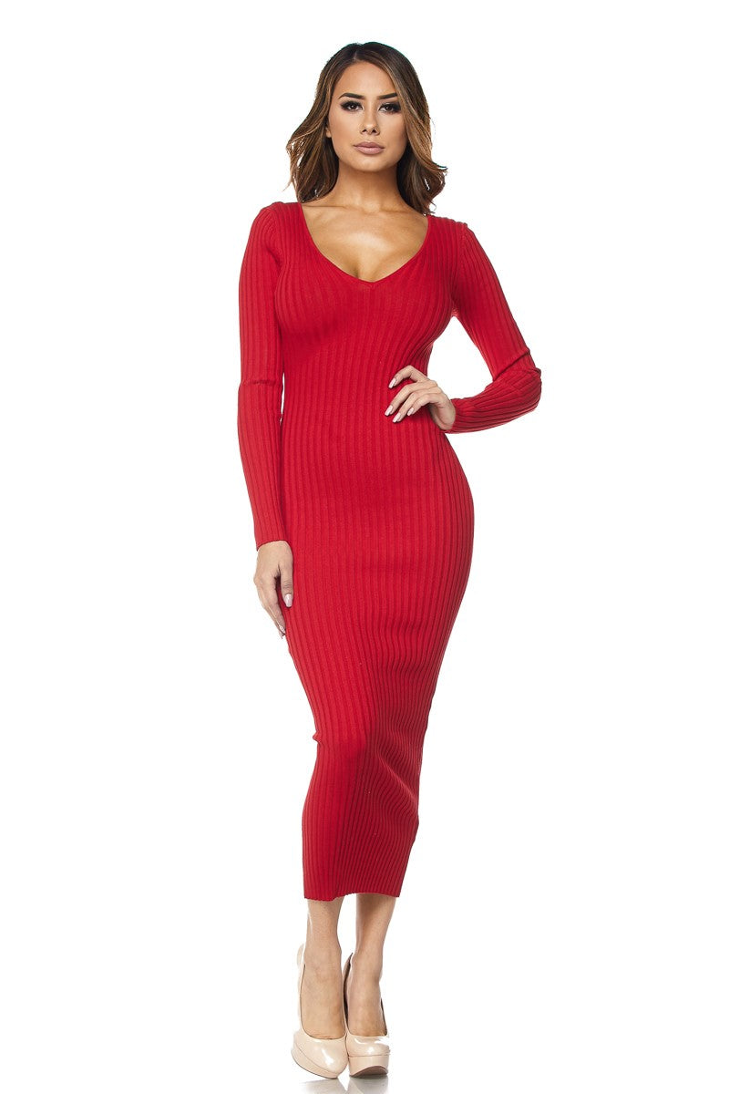 The Lyanna Dress (Red)