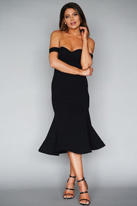 Feeling the Night Dress (Black)