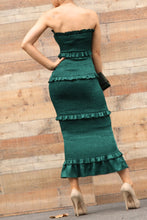 Load image into Gallery viewer, Mi Amor Dress (Hunter Green)