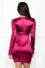 Load image into Gallery viewer, Princess Brianne Dress (Wine)