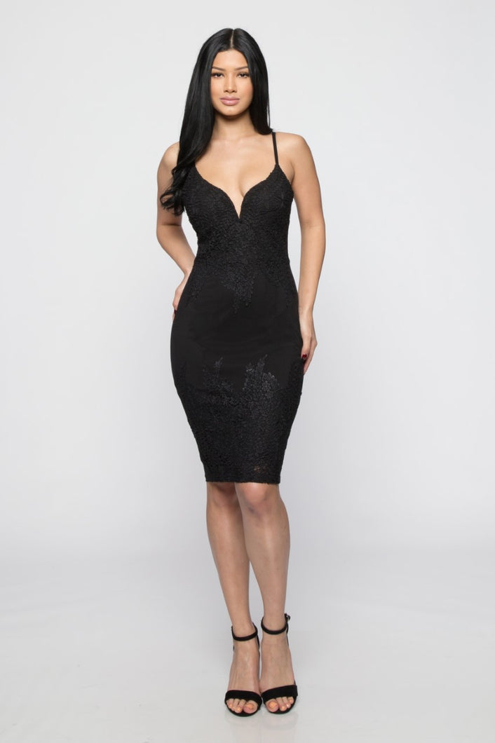Beautiful Liar Dress (Black)