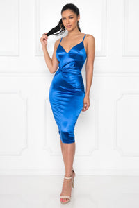 Ladies Night Dress (Royal Blue)