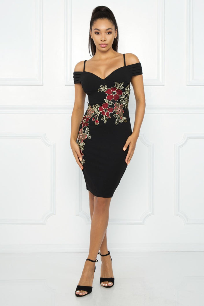 Almost Yours Dress (Black)