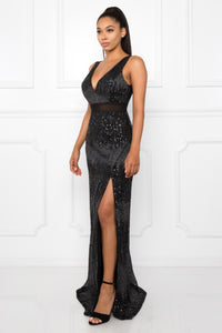 Queen Jamie Dress (Black)