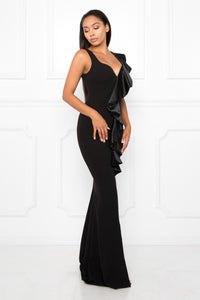 Queen Mary Dress (Black)